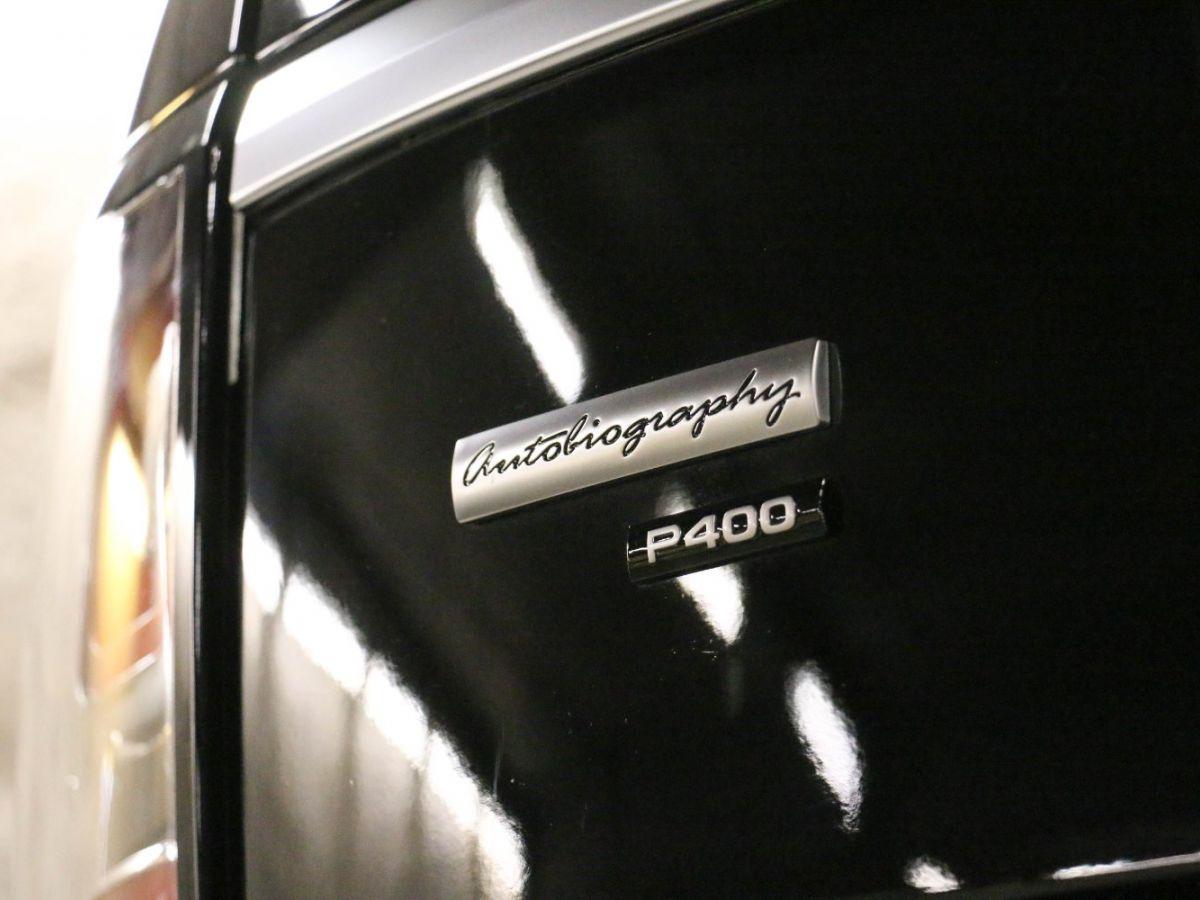 Land Rover Range Rover RANGE ROVER IV (2) 3.0 P400 SI6 AUTOBIOGRAPHY SWB Noir Métallisé - 12
