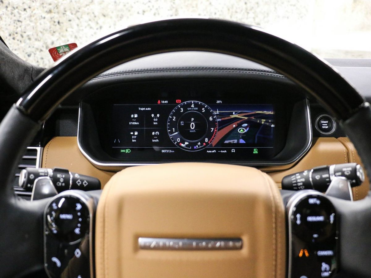 Land Rover Range Rover RANGE ROVER IV (2) 3.0 P400 SI6 AUTOBIOGRAPHY SWB Noir Métallisé - 35
