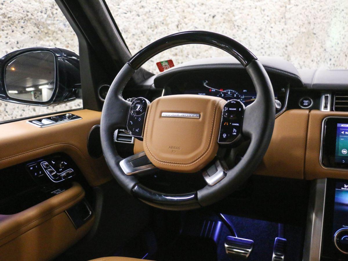 Land Rover Range Rover RANGE ROVER IV (2) 3.0 P400 SI6 AUTOBIOGRAPHY SWB Noir Métallisé - 46