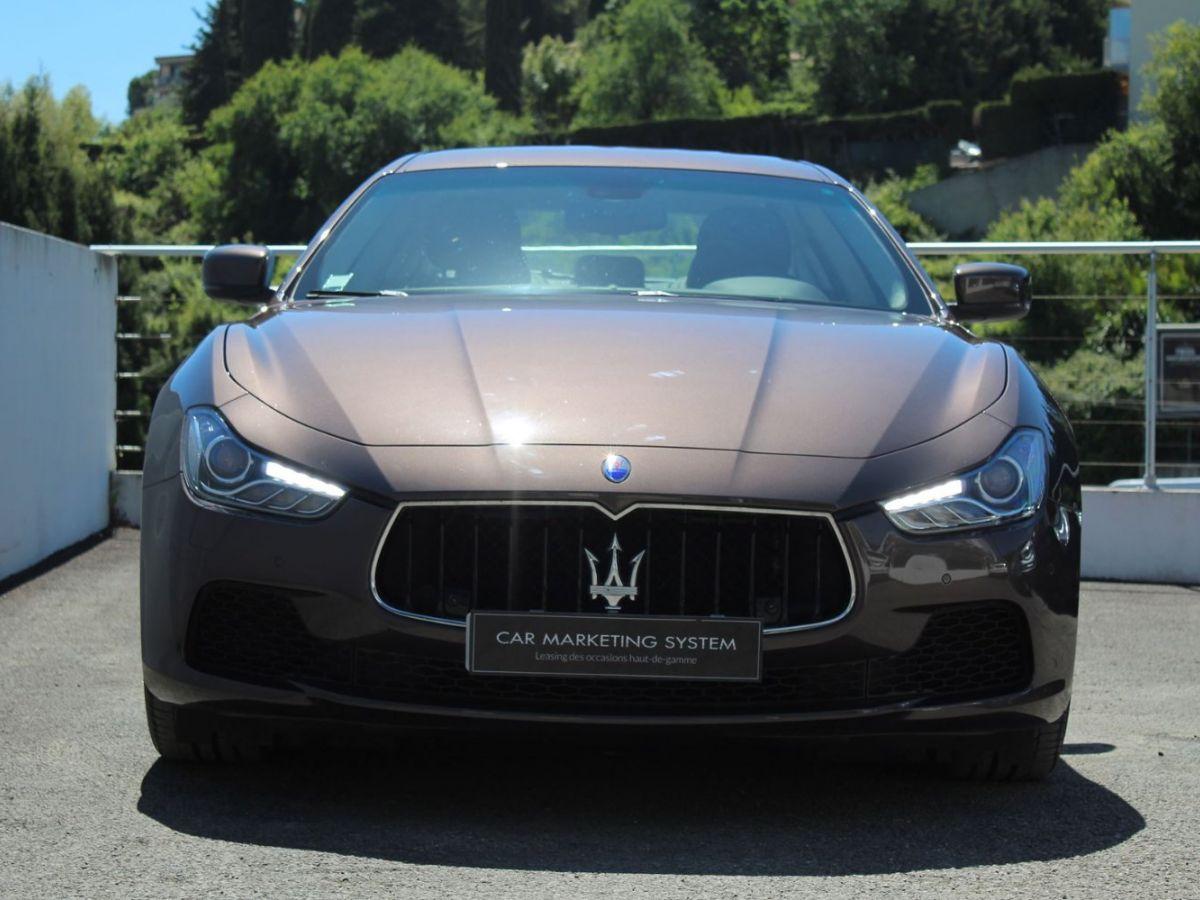 Maserati Ghibli 3.0 V6 410 S Q4 Marron - 2