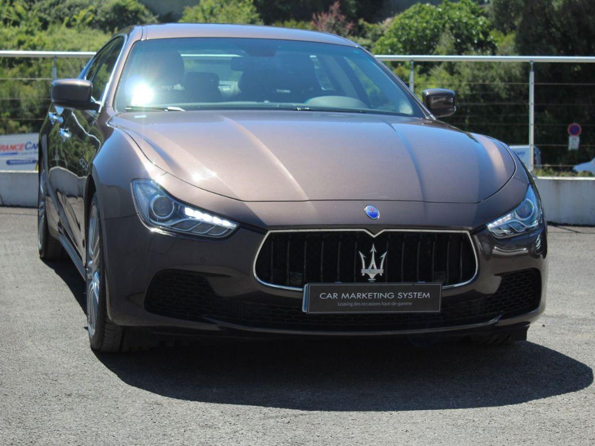 Maserati Ghibli 3.0 V6 410 S Q4 Marron - 3