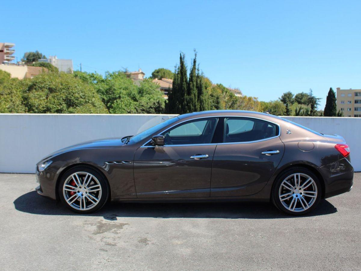 Maserati Ghibli 3.0 V6 410 S Q4 Marron - 4