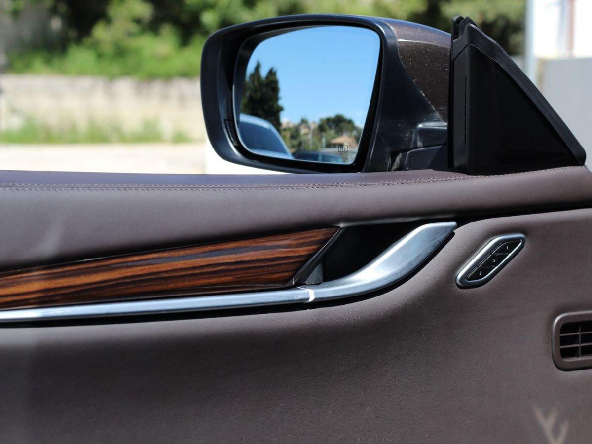 Maserati Ghibli 3.0 V6 410 S Q4 Marron - 12