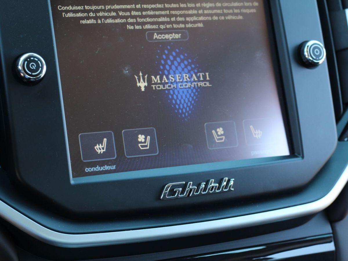 Maserati Ghibli 3.0 V6 410 S Q4 Marron - 17
