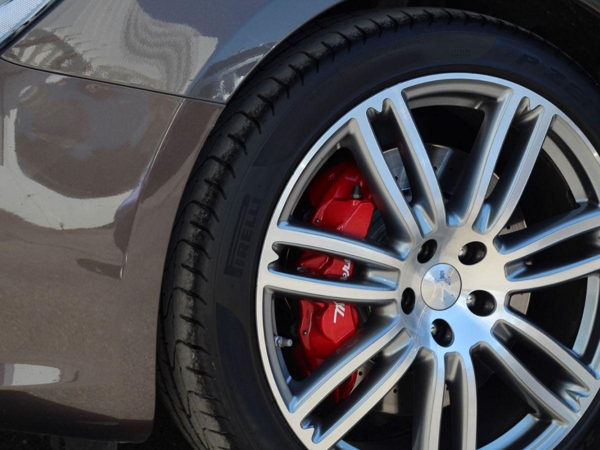 Maserati Ghibli 3.0 V6 410 S Q4 Marron - 27