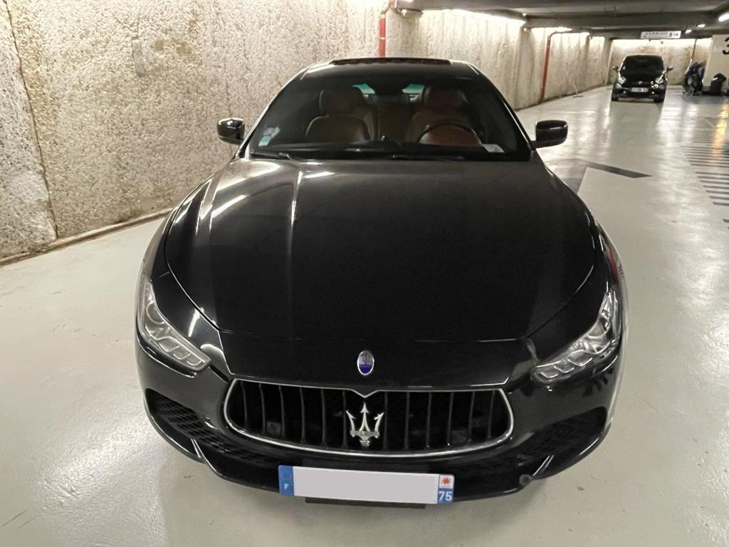 Maserati Ghibli MASERATI GHIBLI 3.0 V6 S Q4 Noir Métallisé - 2