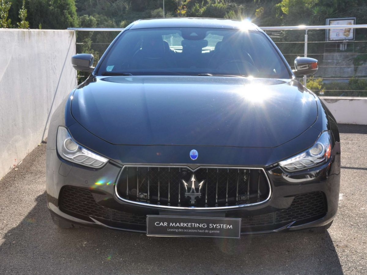 Maserati Ghibli SQ4 410CV Noir - 2