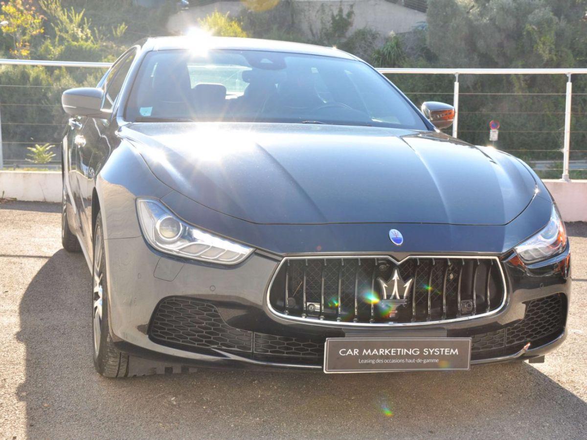Maserati Ghibli SQ4 410CV Noir - 3