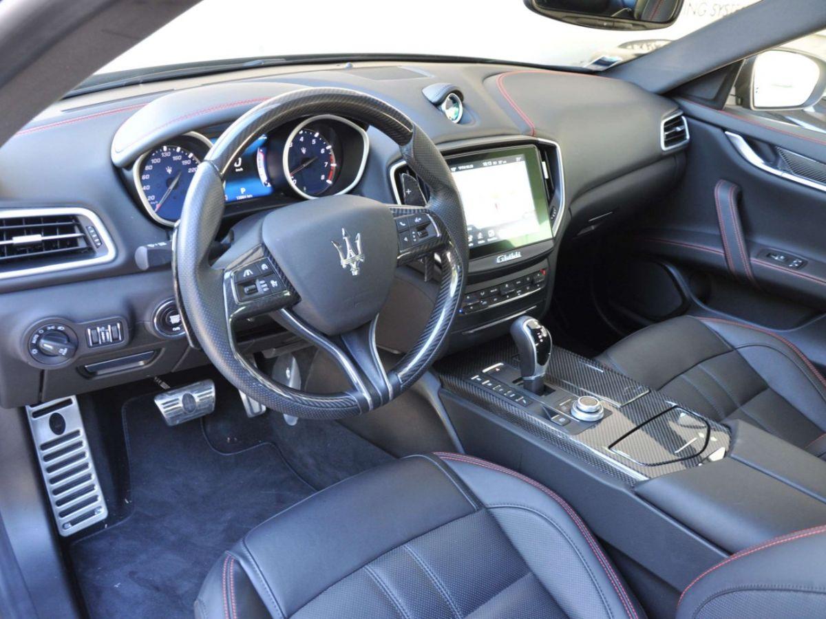 Maserati Ghibli SQ4 410CV Noir - 8