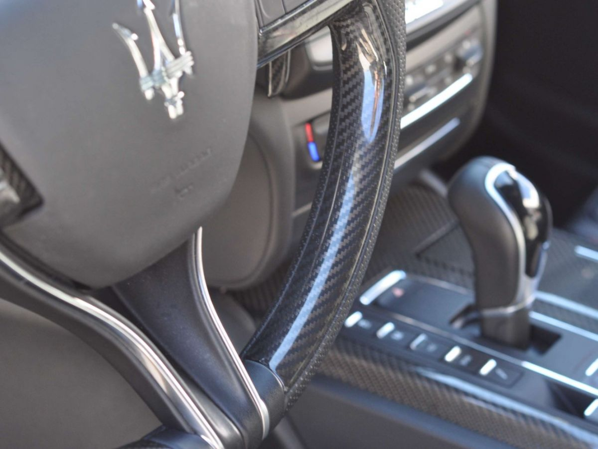 Maserati Ghibli SQ4 410CV Noir - 22