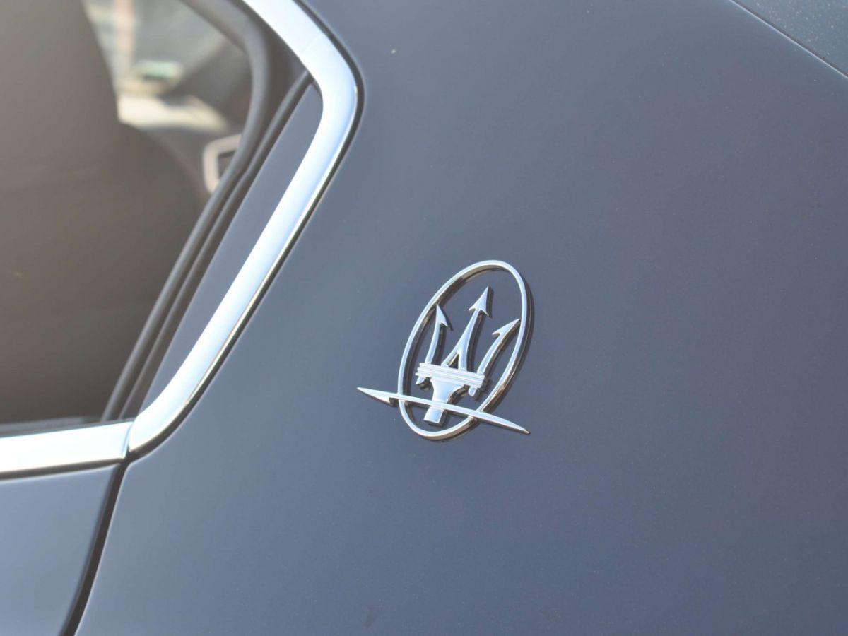 Maserati Ghibli SQ4 410CV Noir - 30