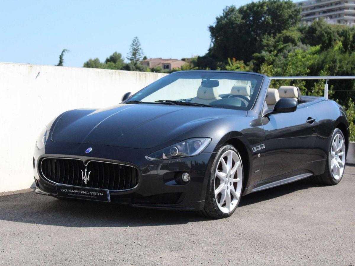 Maserati Grancabrio 4.7 V8 450 Sport BVA Gris Foncé - 1