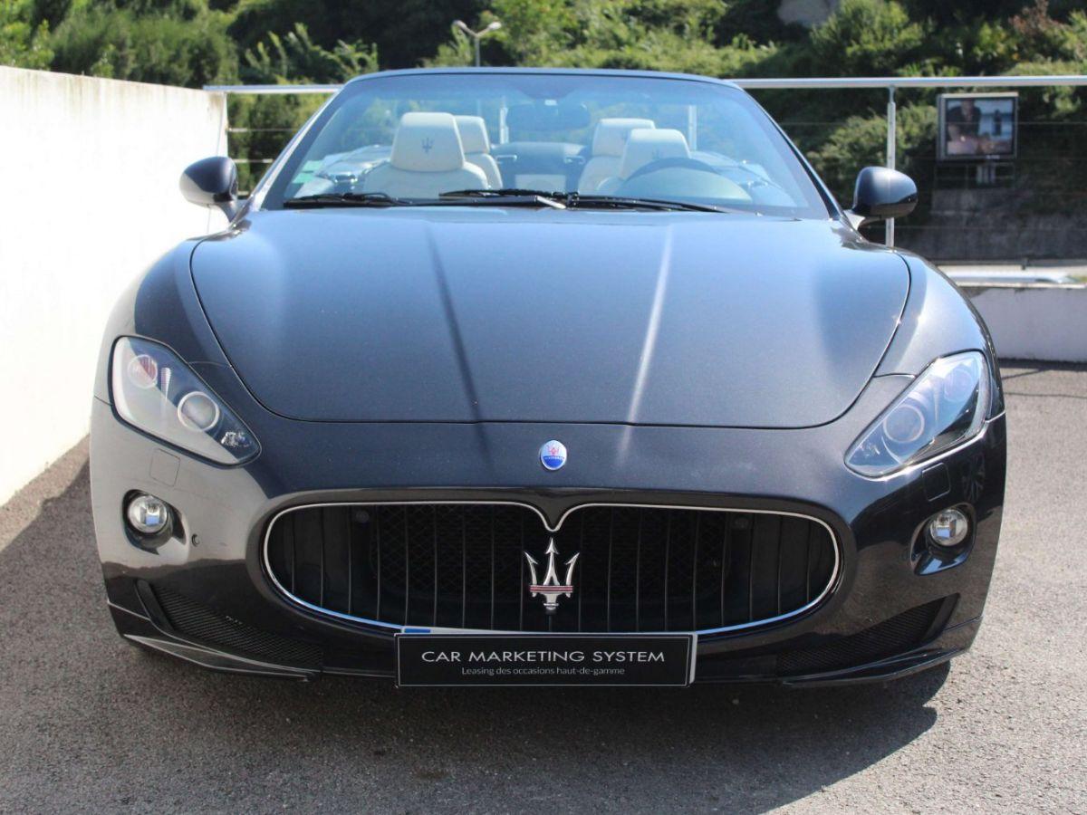 Maserati Grancabrio 4.7 V8 450 Sport BVA Gris Foncé - 2