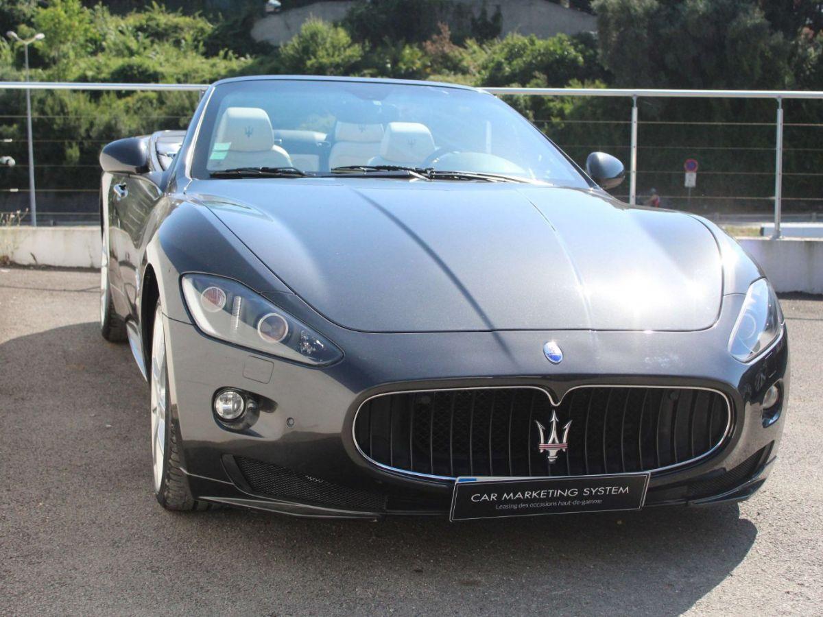 Maserati Grancabrio 4.7 V8 450 Sport BVA Gris Foncé - 3