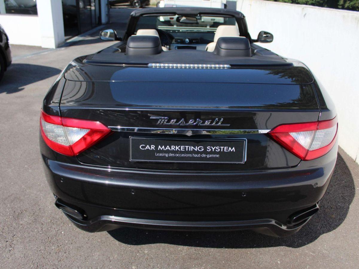 Maserati Grancabrio 4.7 V8 450 Sport BVA Gris Foncé - 6