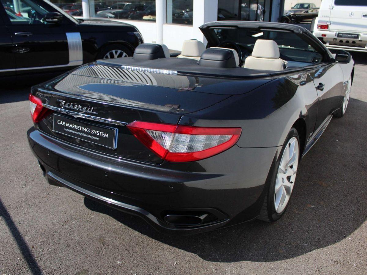Maserati Grancabrio 4.7 V8 450 Sport BVA Gris Foncé - 7