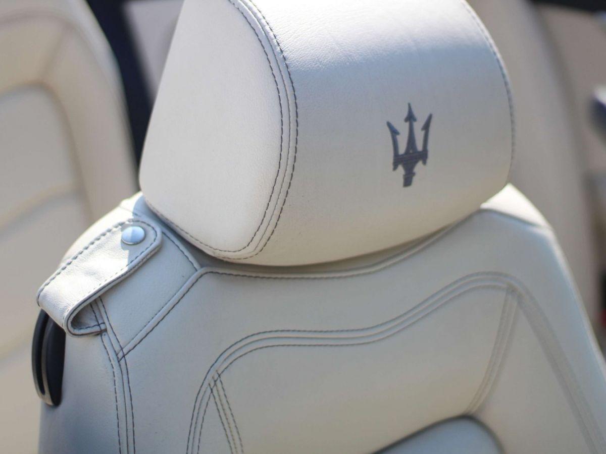Maserati Grancabrio 4.7 V8 450 Sport BVA Gris Foncé - 25
