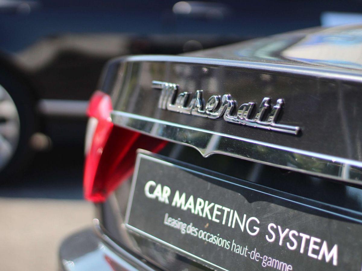 Maserati Grancabrio 4.7 V8 450 Sport BVA Gris Foncé - 26