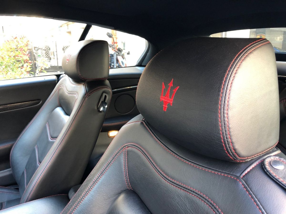 Maserati Grancabrio 4.7 V8 Sport Auto Rouge - 11