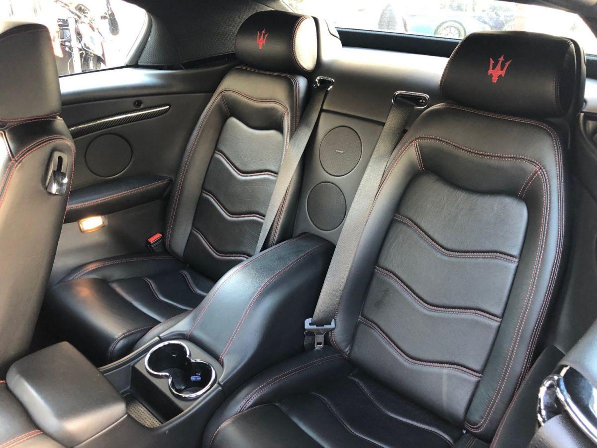 Maserati Grancabrio 4.7 V8 Sport Auto Rouge - 12