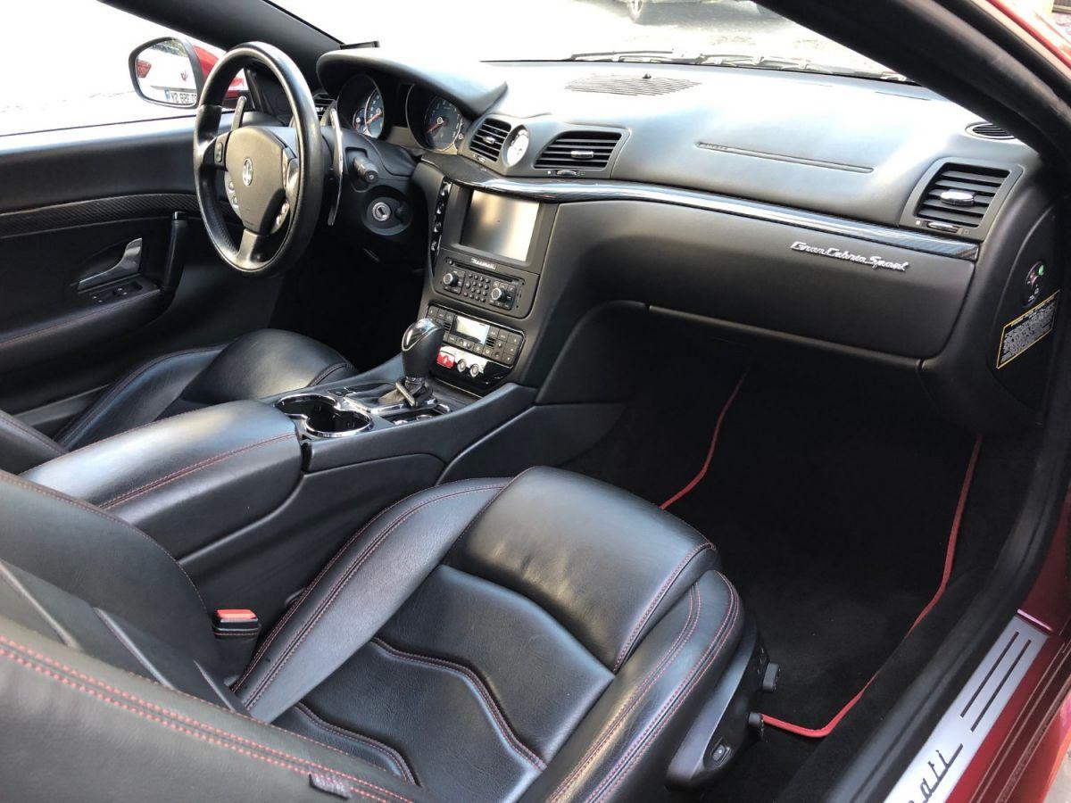 Maserati Grancabrio 4.7 V8 Sport Auto Rouge - 14