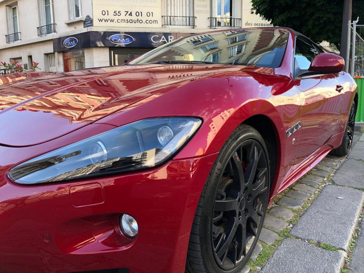 Maserati Grancabrio 4.7 V8 Sport Auto Rouge - 3