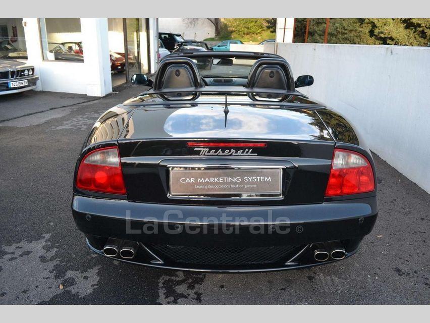 Maserati Gransport 4.2 V8 400 BVA Noir - 5