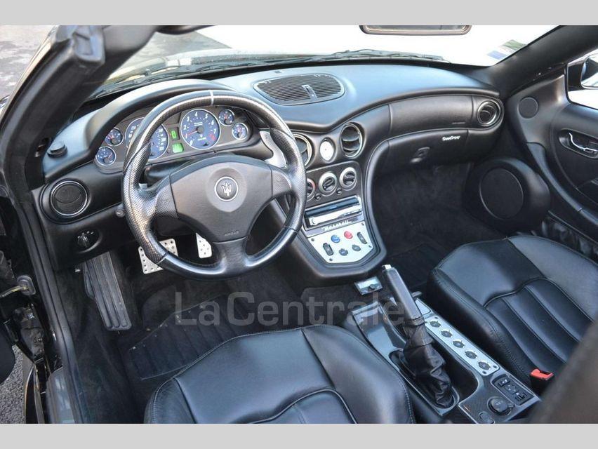 Maserati Gransport 4.2 V8 400 BVA Noir - 7