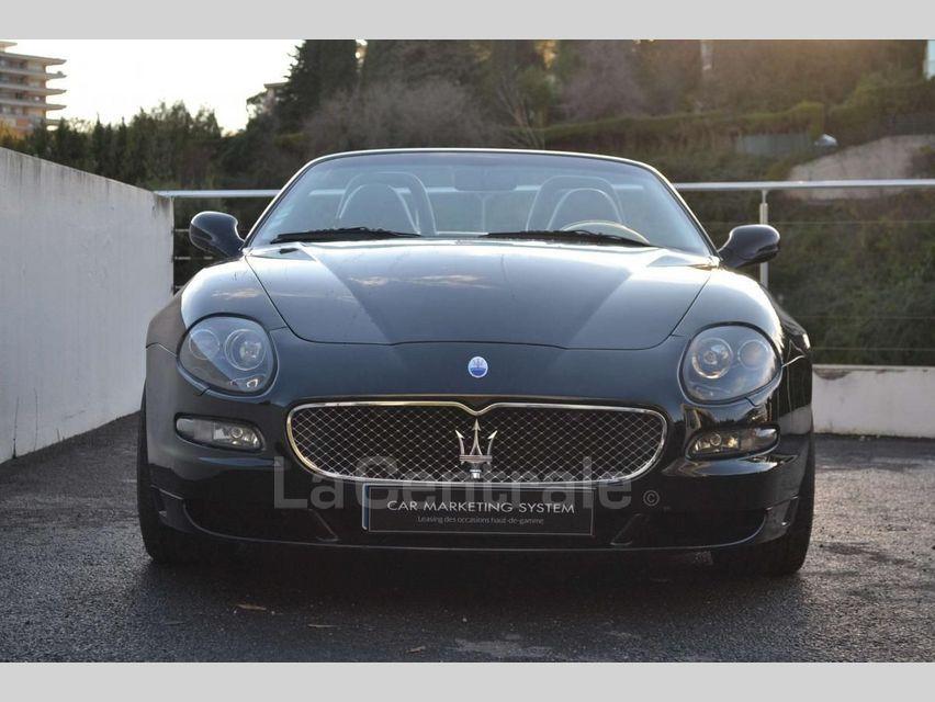 Maserati Gransport 4.2 V8 400 BVA Noir - 23