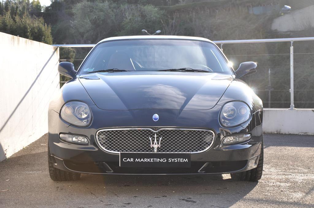 Maserati Gransport 4.3 V8 400 SENSONIC Noir métal - 2