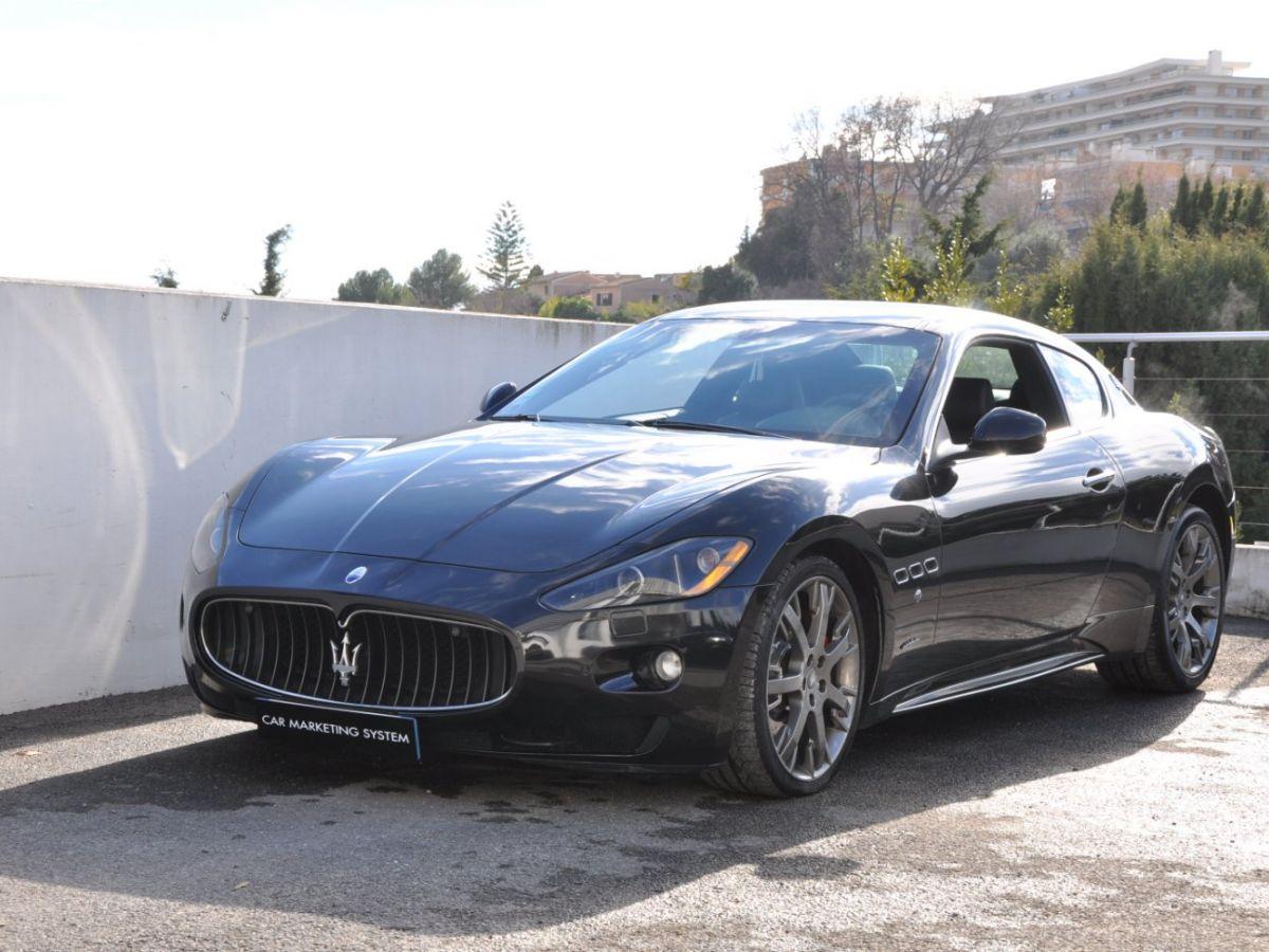 Maserati GranTurismo 4.7 S BVR Noir - 1