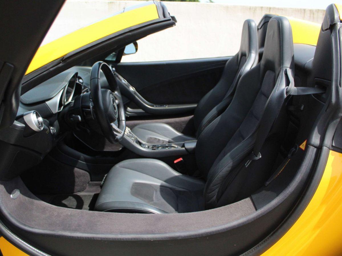 McLaren MP4-12C SPIDER 3.8 V8 TWIN-TURBO 625 Jaune - 10