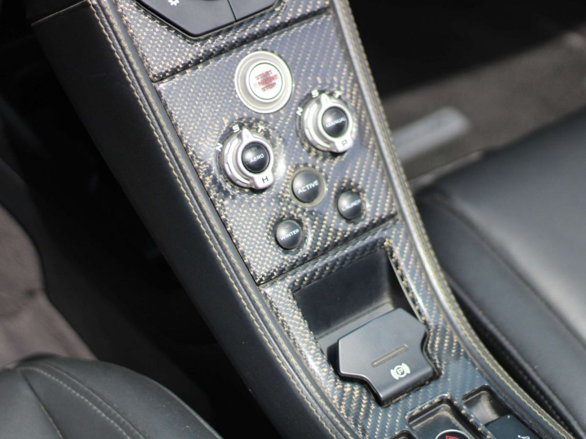 McLaren MP4-12C SPIDER 3.8 V8 TWIN-TURBO 625 Jaune - 23