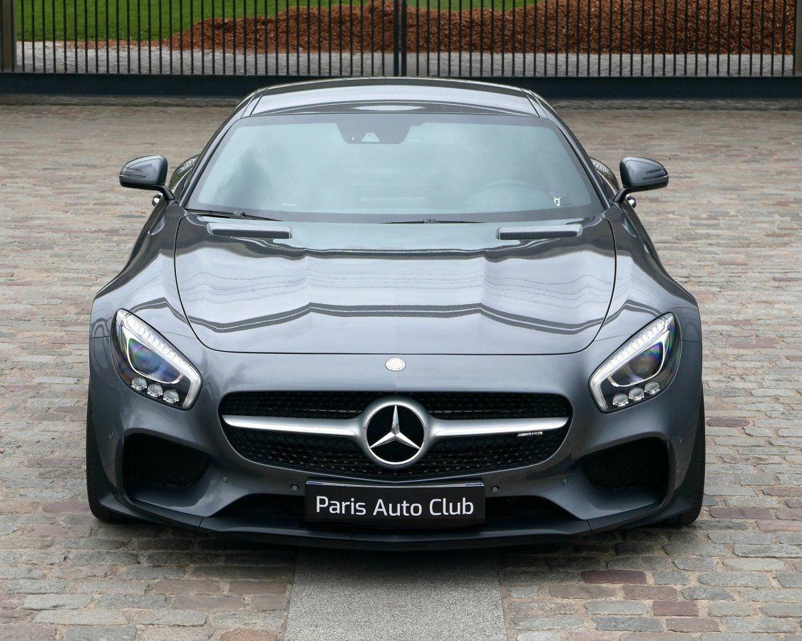 Mercedes AMG GT 4.0 V8 Biturbo 462 Speedshift 7 Edition One Gris anthracite métallisé Occasion - 2