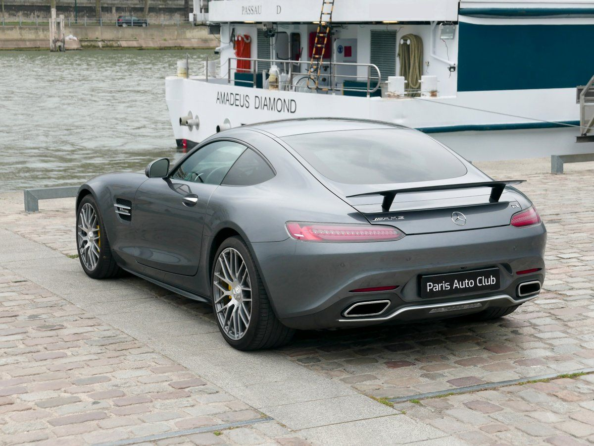 Mercedes AMG GT 4.0 V8 Biturbo 462 Speedshift 7 Edition One Gris anthracite métallisé Occasion - 7