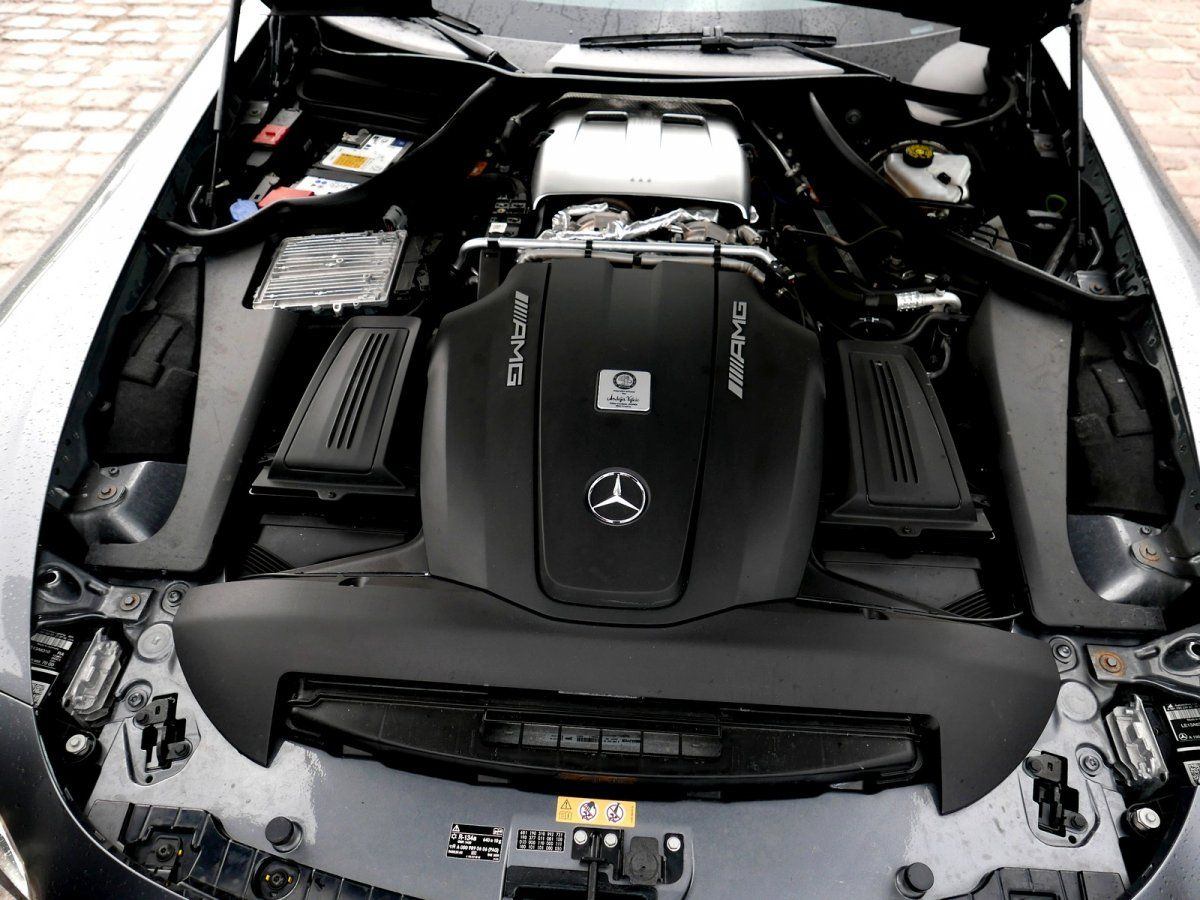 Mercedes AMG GT 4.0 V8 Biturbo 462 Speedshift 7 Edition One Gris anthracite métallisé Occasion - 17