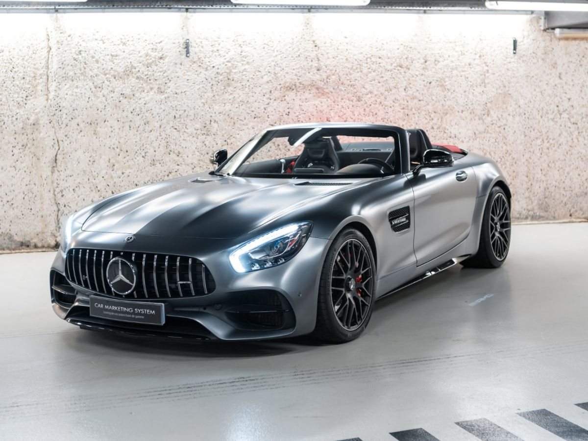 Mercedes AMG GT ROADSTER 4.0 V8 C SPEEDSHIFT 7 Gris Mat - 1
