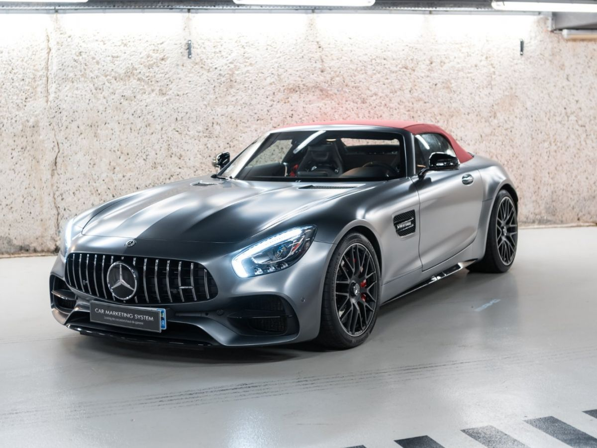 Mercedes AMG GT ROADSTER 4.0 V8 C SPEEDSHIFT 7 Gris Mat - 2