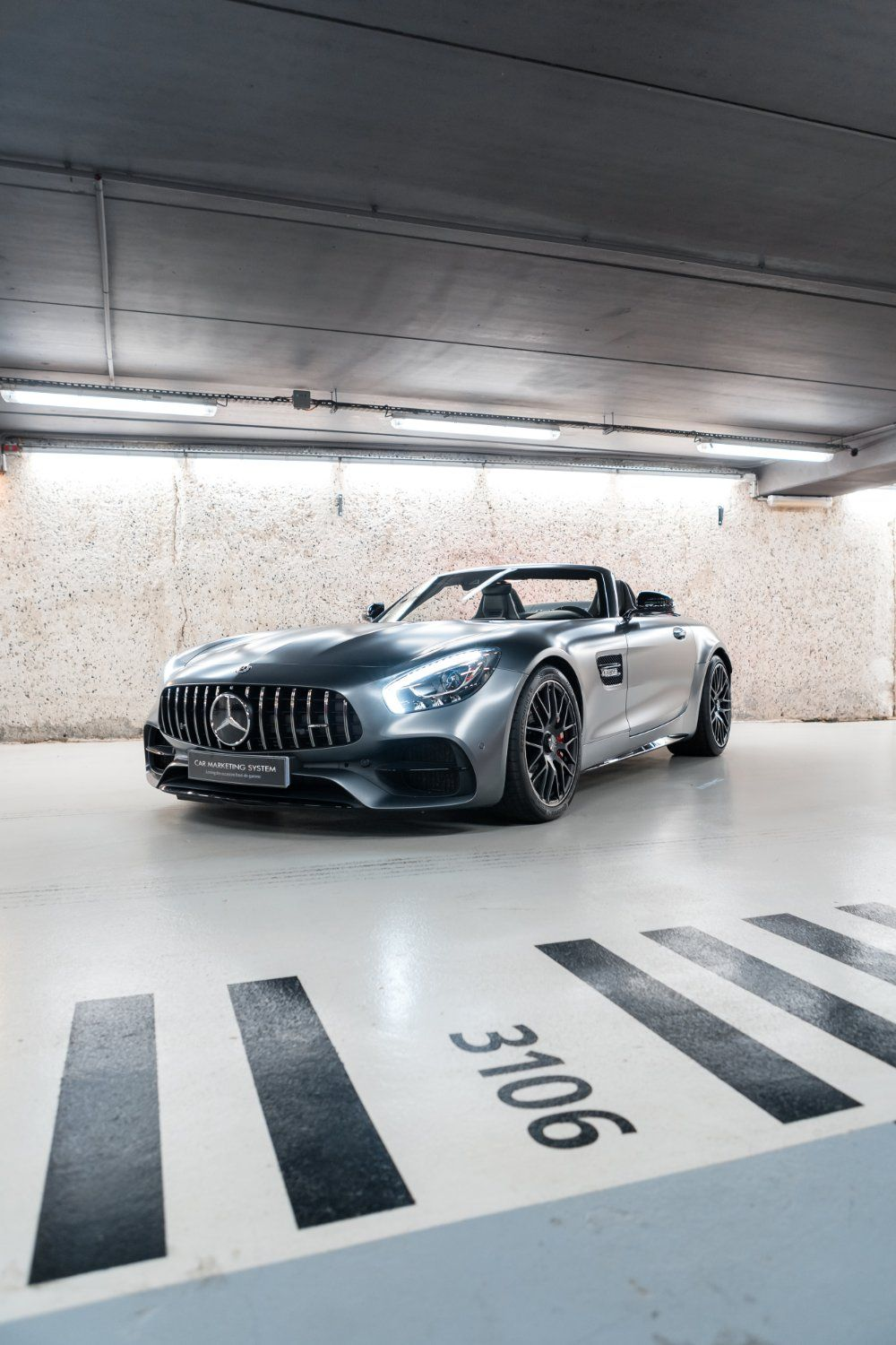 Mercedes AMG GT ROADSTER 4.0 V8 C SPEEDSHIFT 7 Gris Mat - 3