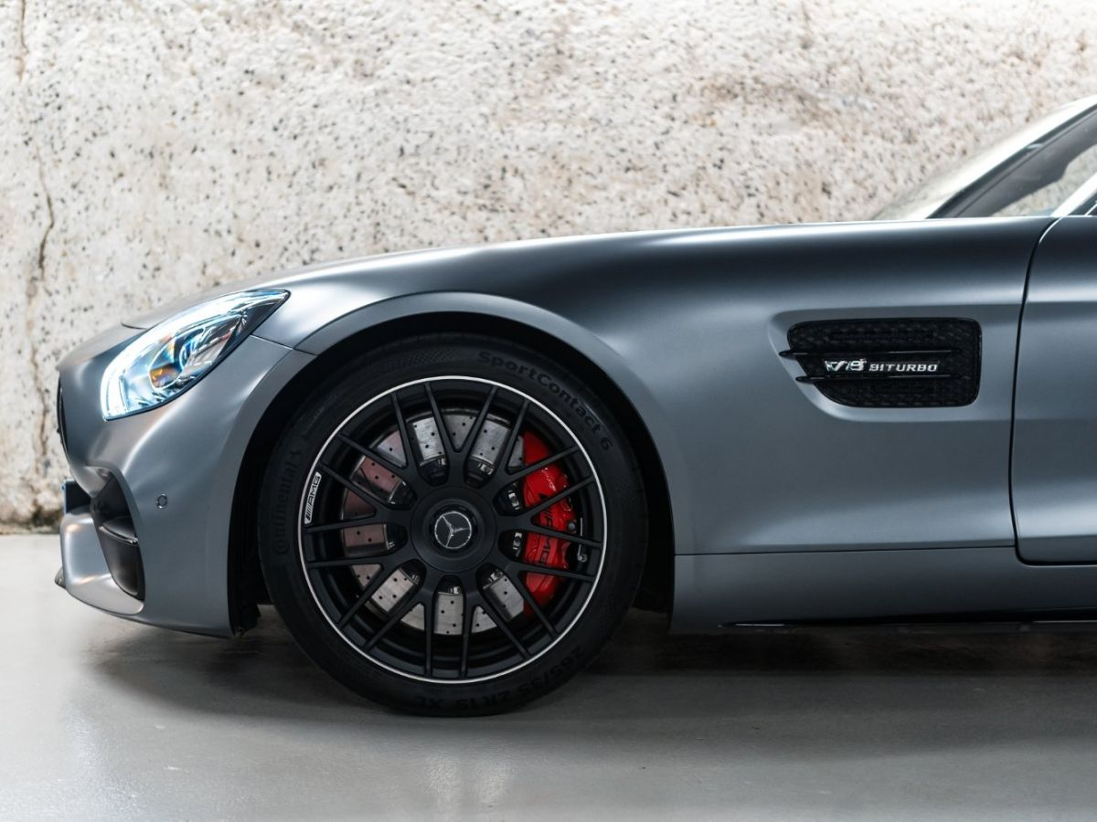 Mercedes AMG GT ROADSTER 4.0 V8 C SPEEDSHIFT 7 Gris Mat - 12