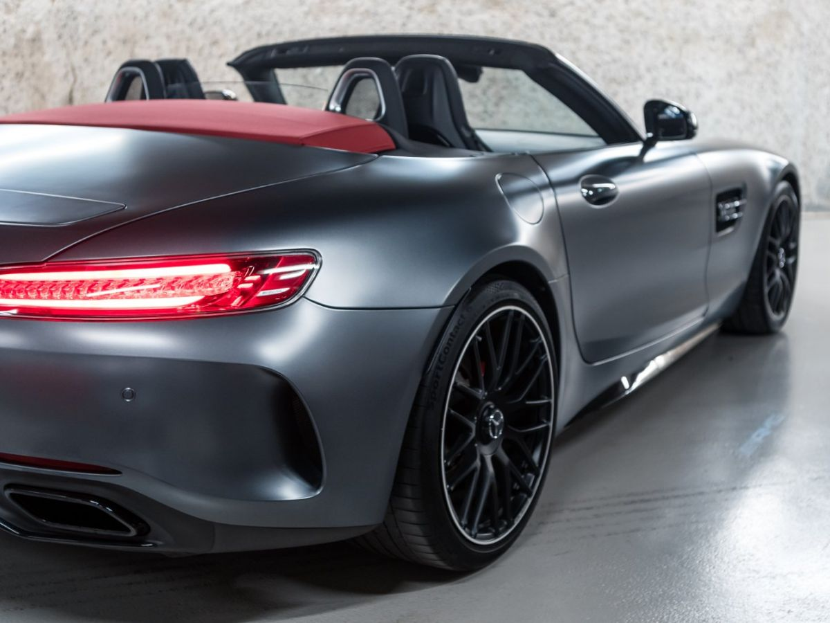 Mercedes AMG GT ROADSTER 4.0 V8 C SPEEDSHIFT 7 Gris Mat - 13