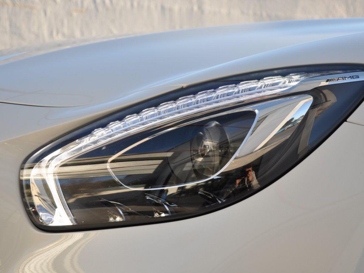 Mercedes AMG GT ROADSTER C 557CH Blanc - 12