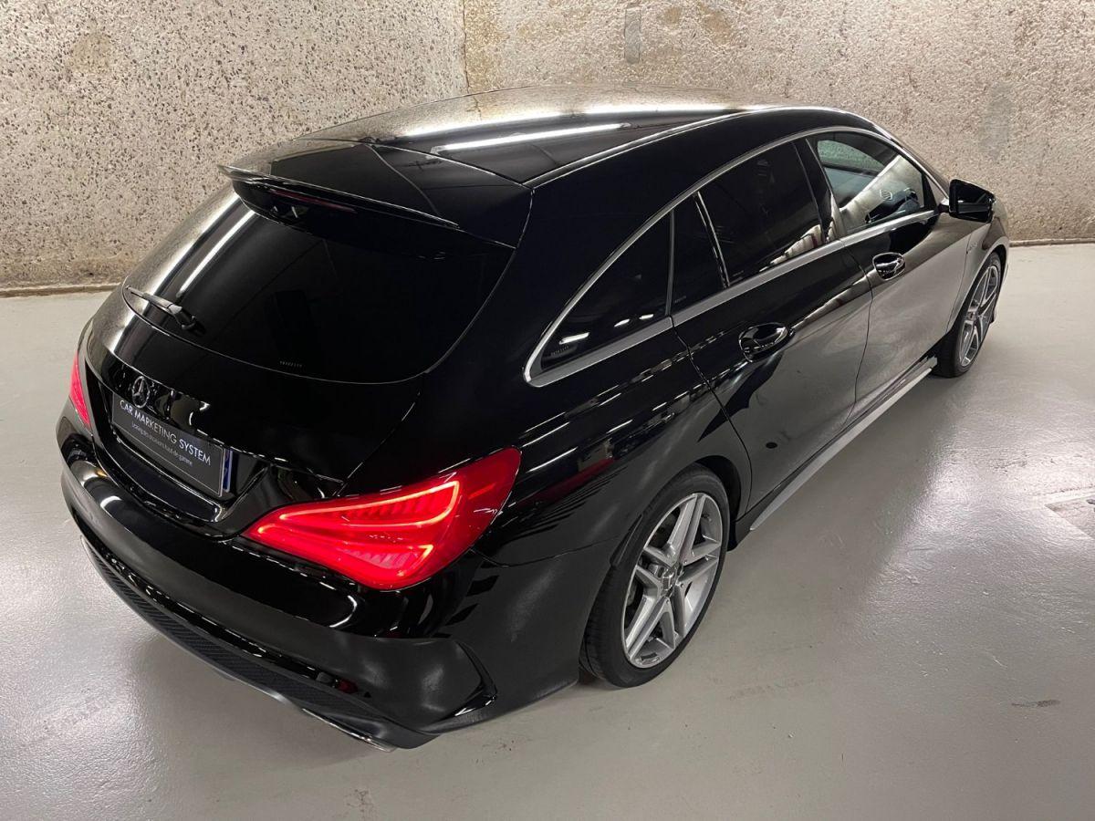 Mercedes CLA Shooting Brake MERCEDES CLA SHOOTING BRAKE 45 AMG 381 4MATIC 7G-DCT Noir Métallisé - 4