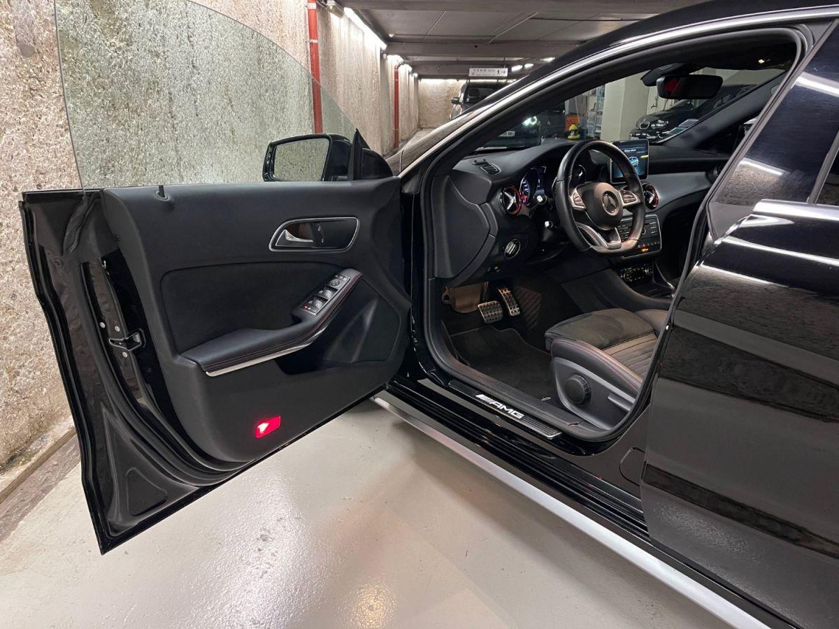 Mercedes CLA Shooting Brake MERCEDES CLA SHOOTING BRAKE 45 AMG 381 4MATIC 7G-DCT Noir Métallisé - 12