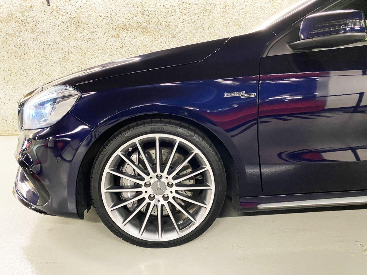 Mercedes Classe A 45 Mercedes-AMG Speedshift DCT 4Matic Bleu Foncé Métallisé - 4