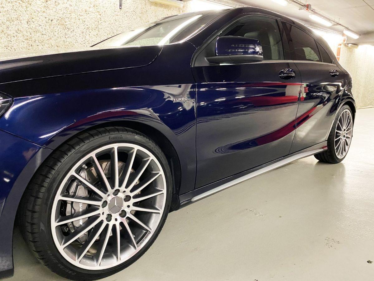 Mercedes Classe A 45 Mercedes-AMG Speedshift DCT 4Matic Bleu Foncé Métallisé - 5