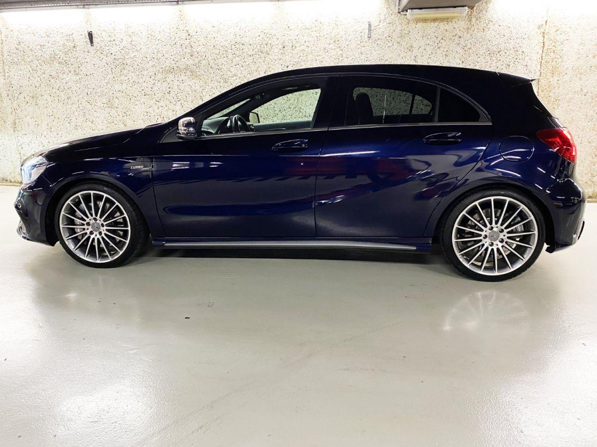 Mercedes Classe A 45 Mercedes-AMG Speedshift DCT 4Matic Bleu Foncé Métallisé - 6