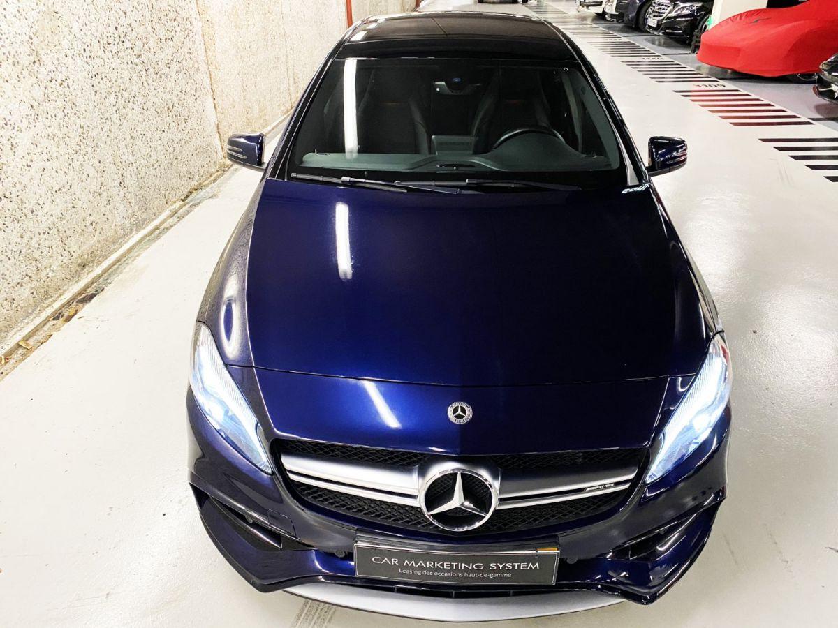 Mercedes Classe A 45 Mercedes-AMG Speedshift DCT 4Matic Bleu Foncé Métallisé - 7