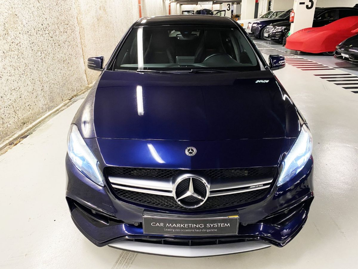 Mercedes Classe A 45 Mercedes-AMG Speedshift DCT 4Matic Bleu Foncé Métallisé - 8