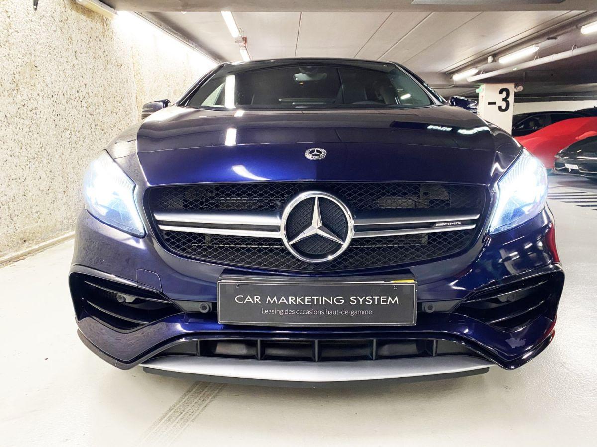 Mercedes Classe A 45 Mercedes-AMG Speedshift DCT 4Matic Bleu Foncé Métallisé - 9